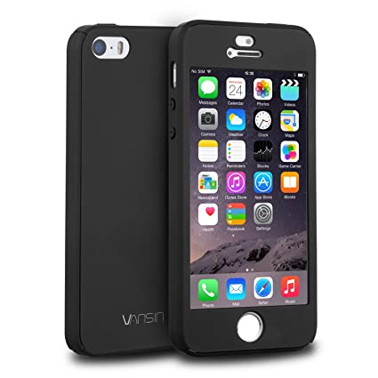 official photos e12fb 9487d iPhone 5S Case, iPhone 5 Case, iPhone SE Case, VANSIN: Amazon.in ...