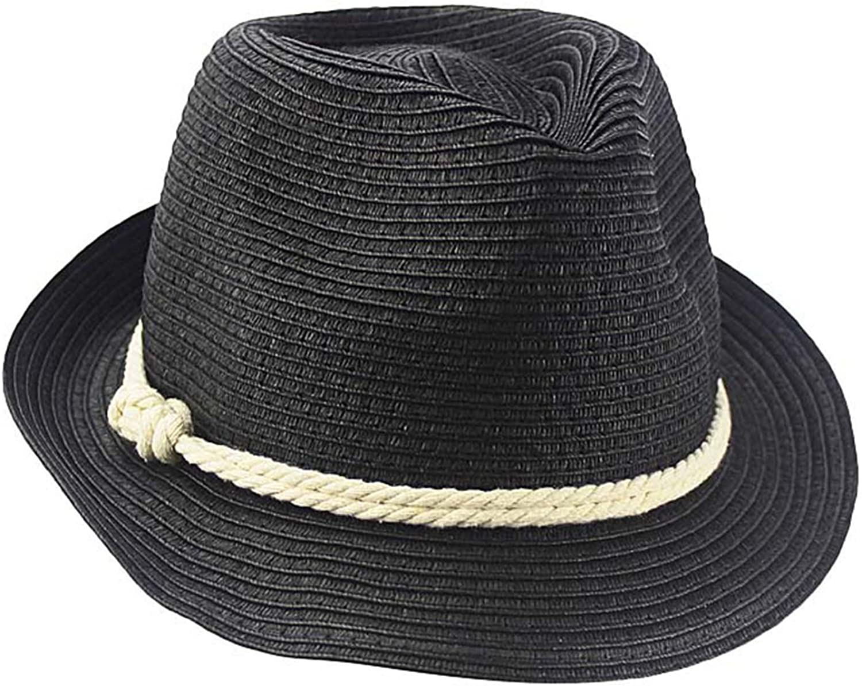 Luxury Divas White /& Blue Lightweight Summer Fedora Hat with Belt Style Band