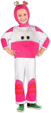 Ciao Sally Tren Robot Trains disfraz de niña, 2 – 3 años, Rosa ...