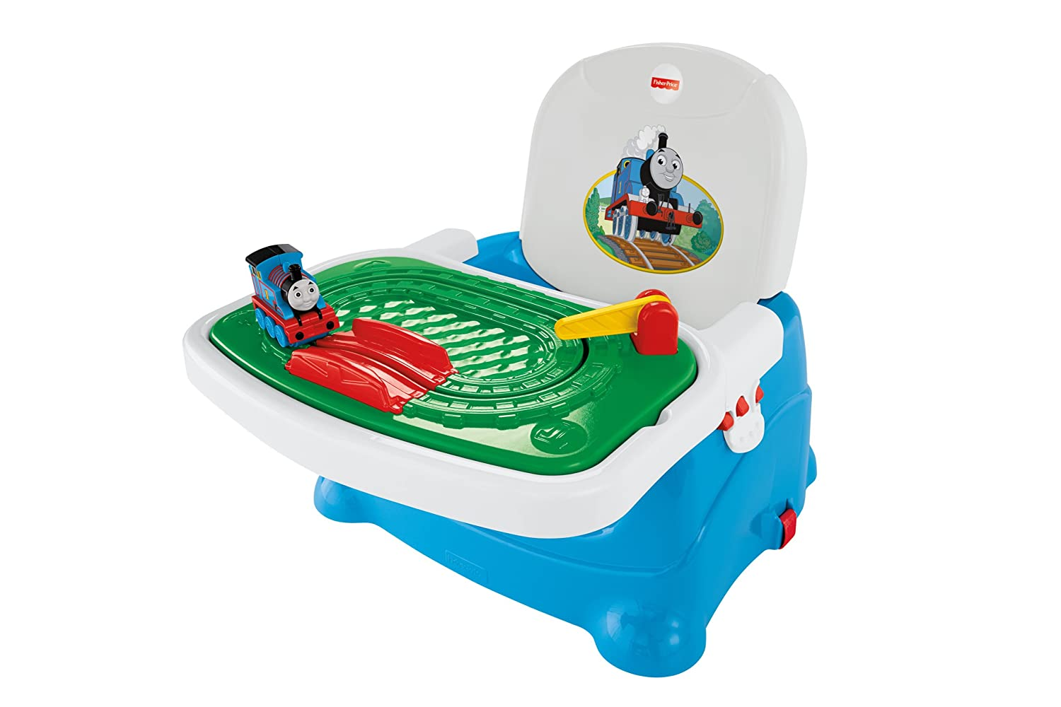 Amazon.com : Fisher Price Thomas U0026 Friends, Thomas Tray Play Booster : Chair  Booster Seats : Baby