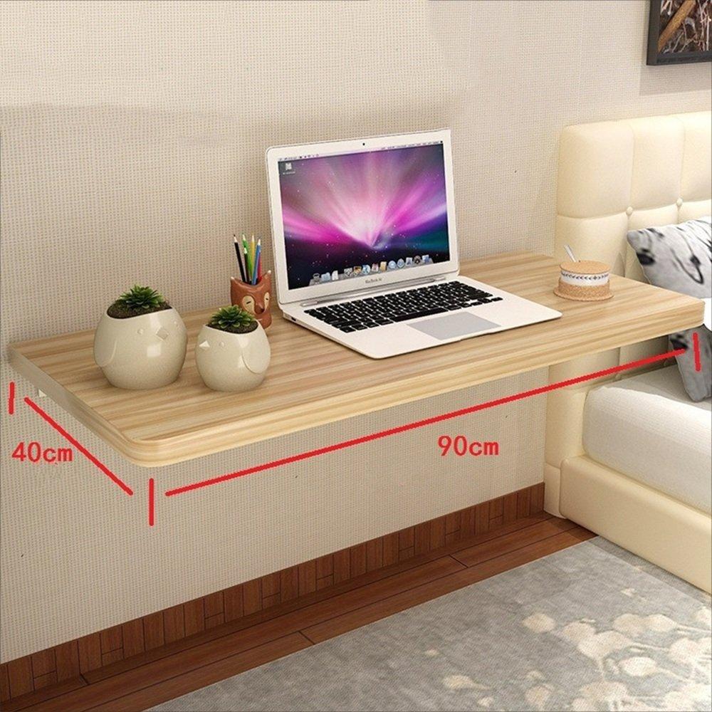NAN 折りたたみ式壁掛け式落葉テーブル、キッチン&ダイニングテーブル、子供用テーブルデスク、桃色 ワークベンチ (サイズ さいず : 90cm) B07F7DD86290cm
