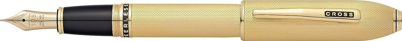 Cross Peerless 125 23 Carat Heavy Gold Plated Ballpoint Pen