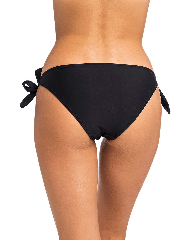 RIP CURL,Surf Essentials Good Tie Side,Bikini da Surf,Pantaloni,buona Copertura,Black,M