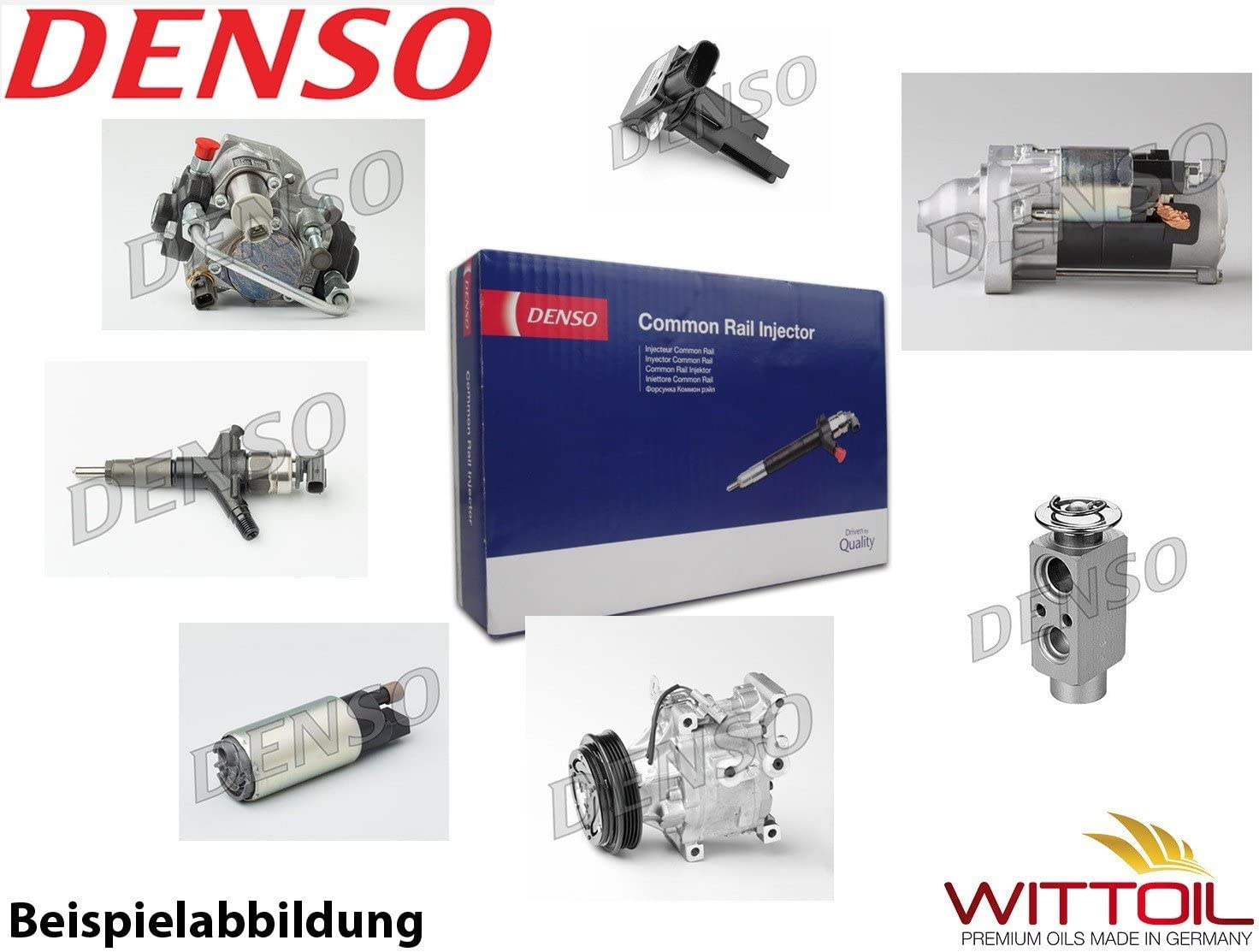 Denso Dcrs300250 Druckregelventil Common Rail System Auto
