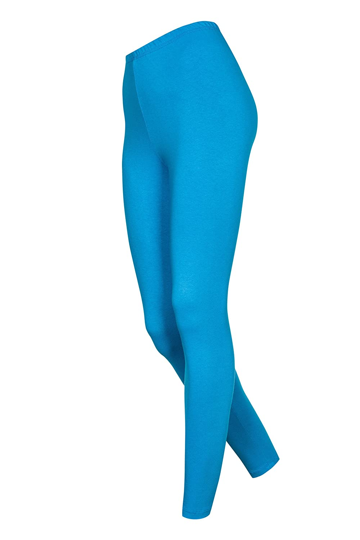 Gr/ö/ßen Unifarben DeDavide Lange Kinder Leggings aus Mikrofaser