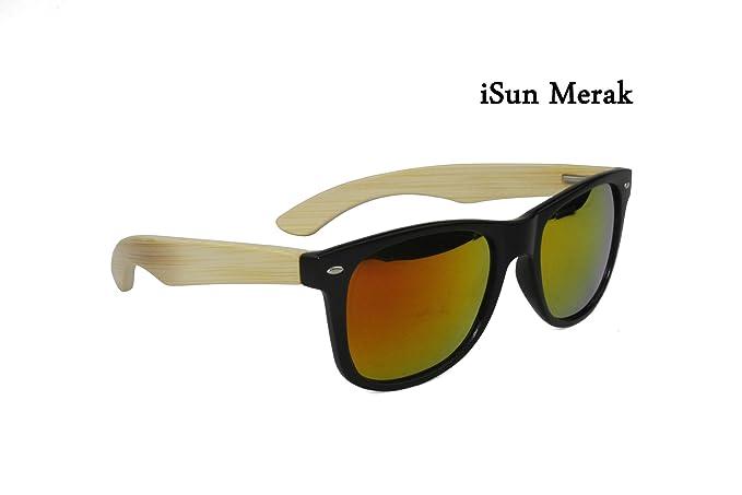 """iSun Merak,Modelo Merak, lentes Polarizadas efecto espejo en color """"dorado fuego"""""""