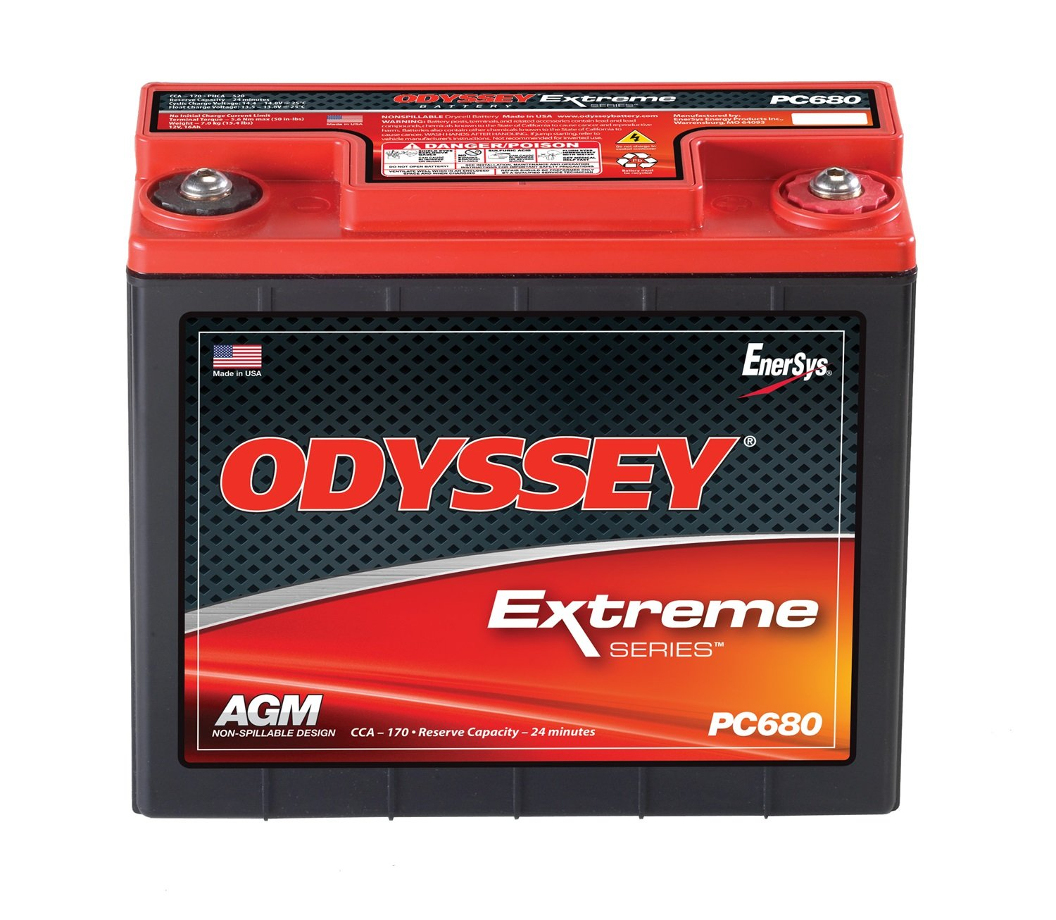 Best RV Battery: Odyssey PC680 Battery