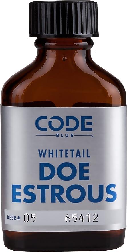 Code Blue whietail Doe estrous