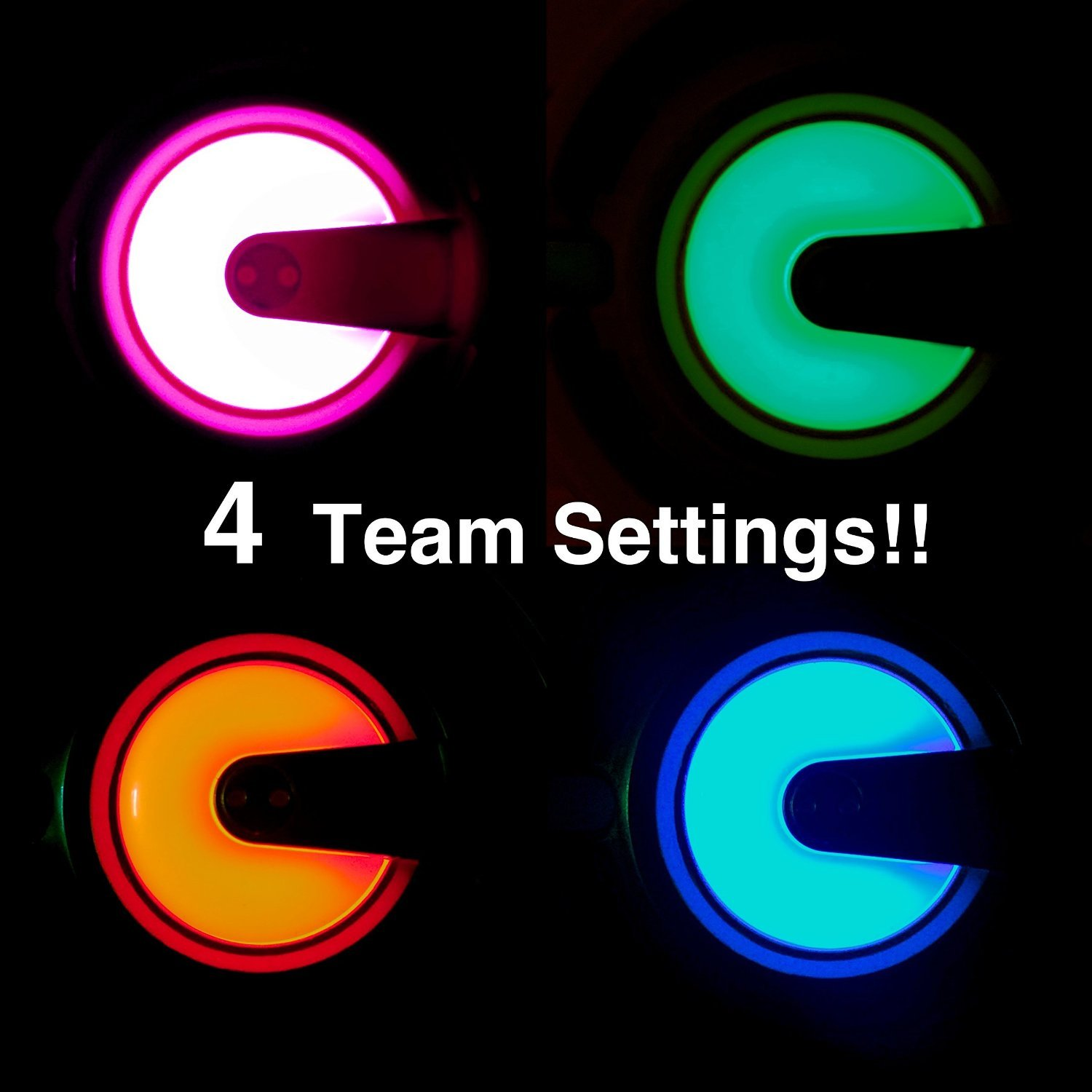 Dynasty Toys Family Games Laser Tag Set And Carrying Electronic Circuit Symbol Group Picture Image By Case Blue White Blasters For Birthday Parties Events 2 Pack