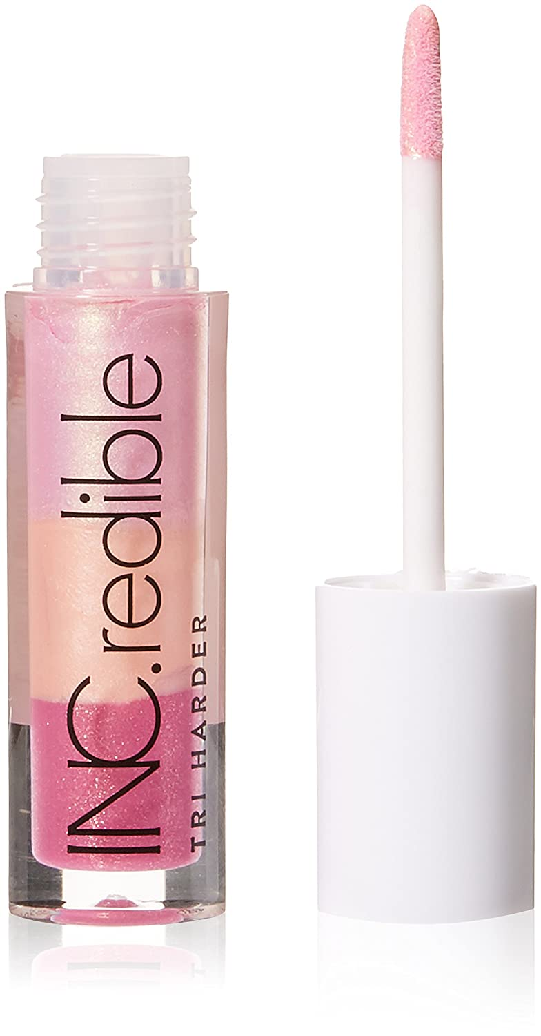 Amazon Com Inc Redible Tri Harder Rainbow Sparkle Gloss In A Meeting Beauty
