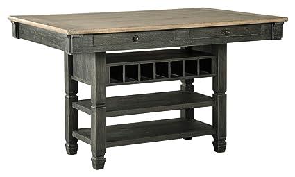 Amazoncom Ashley Furniture Signature Design Tyler Creek Counter