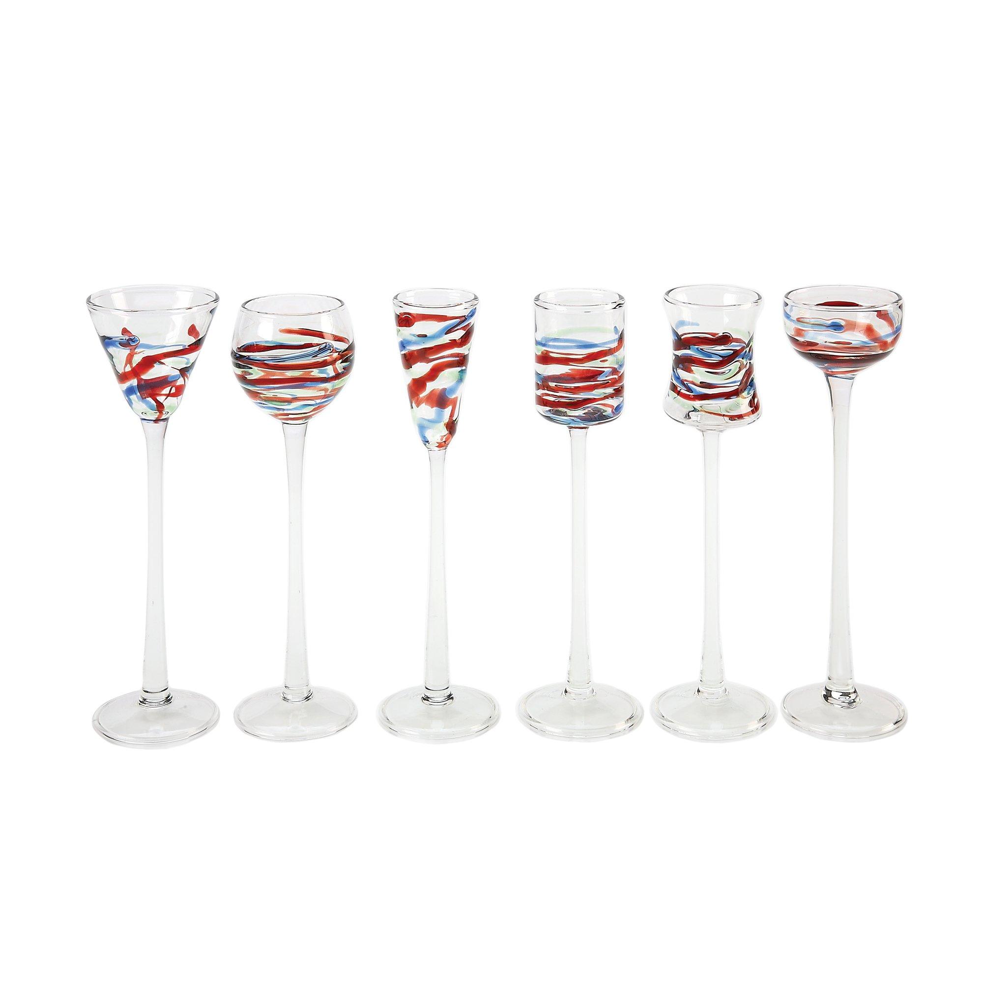 IMPULSE Asti Cordials (Set of 6), Multicolor