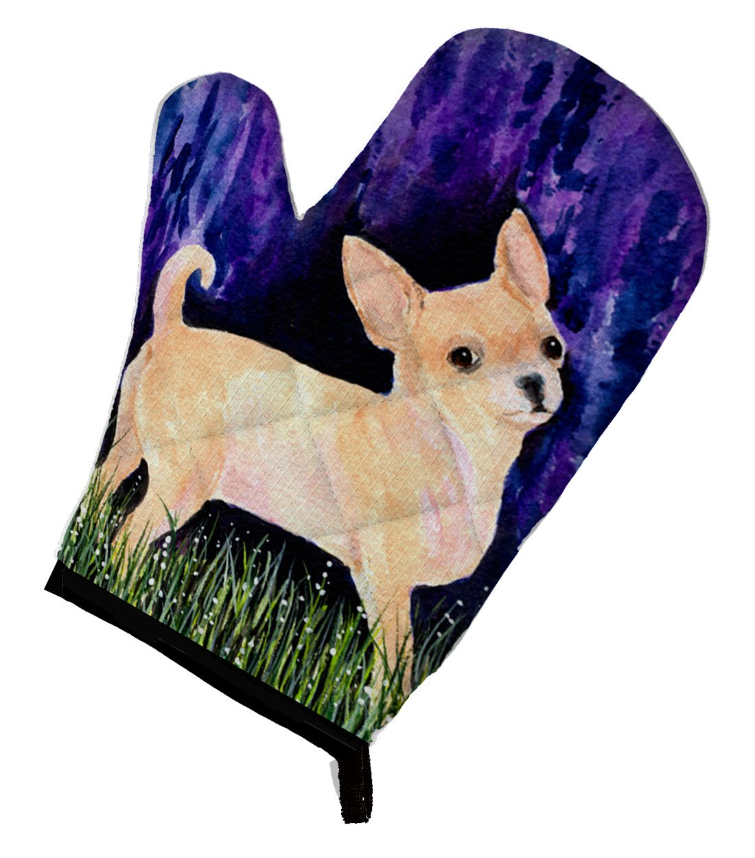 Caroline's Treasures SS8514OVMT Starry Night Chihuahua Oven Mitt, Large, multicolor