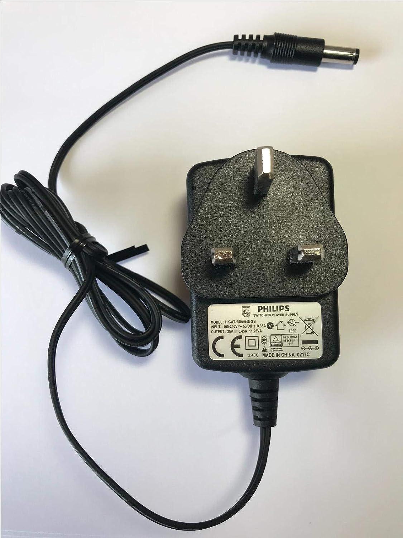 25V 0.45A 11.25VA Cargador para Philips FC6168 PowerPro Duo ...