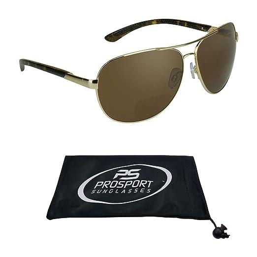 6e5556ccbc Amazon Com Suncloud Aviator Bifocal Reading Glasses Sports Outdoors