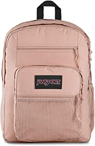 JanSport Big Campus 15 Inch Laptop Backpack - Lightweight Daypack, Rose Smoke