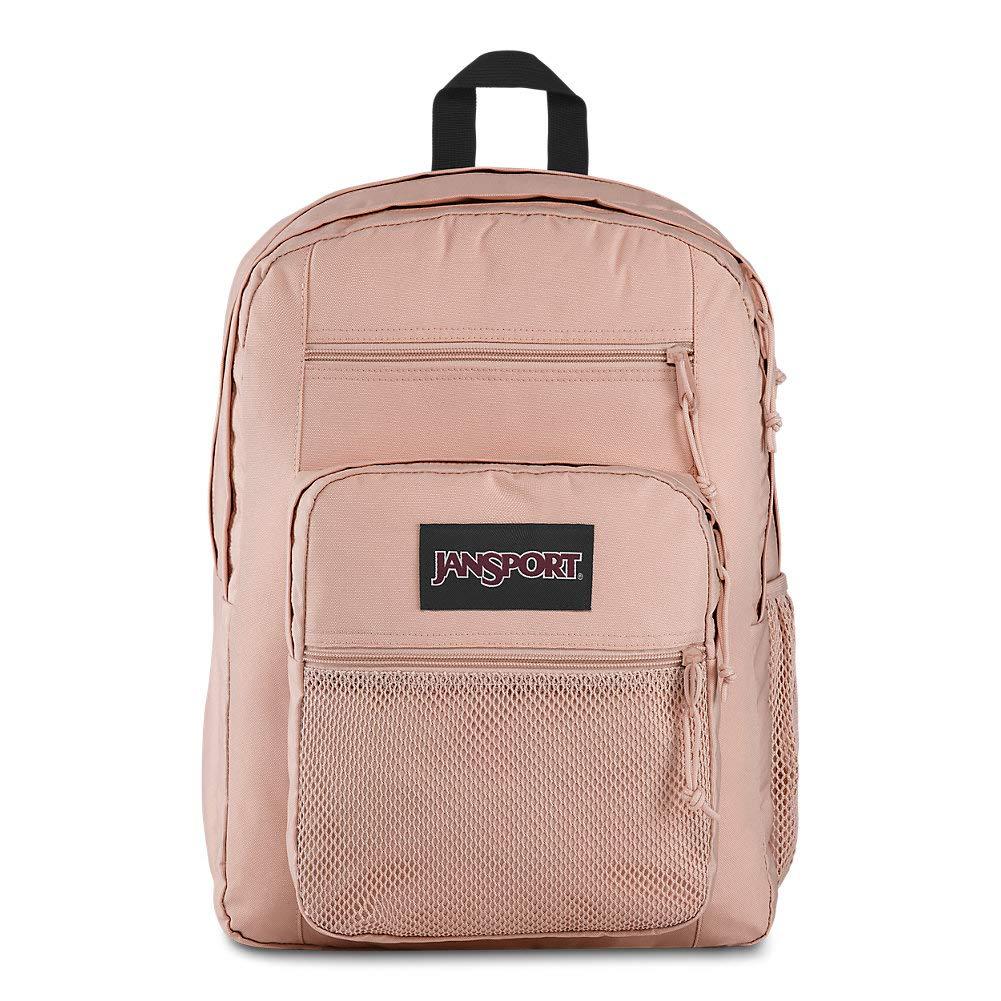 Jansport Big Campus Backpack - Lightweight 15'' Laptop Bag | Rose Smoke by JanSport
