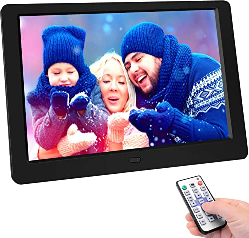 Digital Picture Frame 10.1 Inchinch Digital Picture Frame HD 1280×800 16  10 Full IPS Display Photo/Music/Video/Calendar