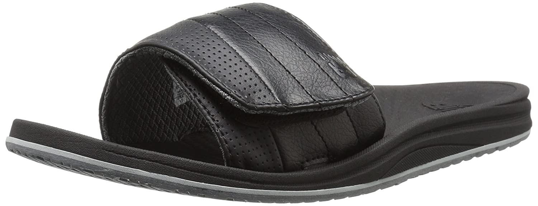 New Balance hombres de carga Slide Sandal 9 4E US|Negro / Gris