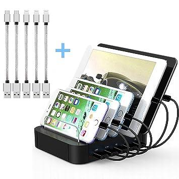 ttplanet usb charging station 5 port desktop charging amazon co uk rh amazon co uk