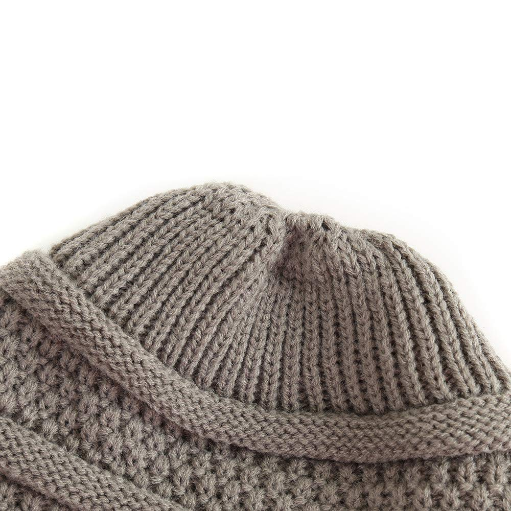 Winter Warm Knit Oversized Chunky Thick Soft Ski Cap Cliramer Slouchy Beanie Hat for Women