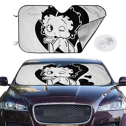 Betty Boop 車用サンシェード