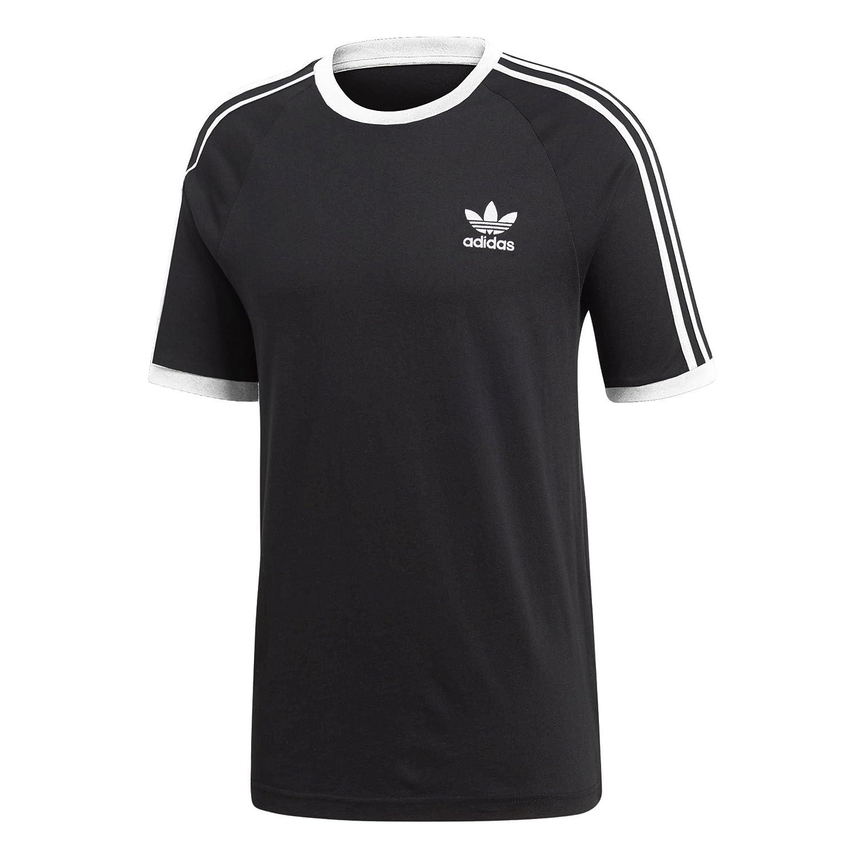 Adidas Men's Original Embroidered Trefoil 3 Stripe California T Shirt