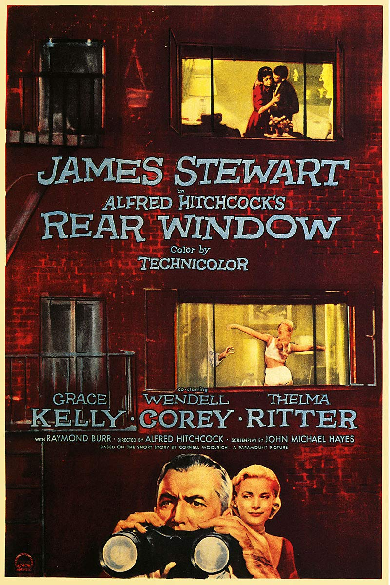 American Gift Services - Rear Window Vintage Alfred Hitchcock Movie Poster - 11x17