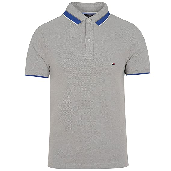 18b6ef18214 Image Unavailable. Image not available for. Colour: Tommy Hilfiger Oxford Tipped  Polo ...