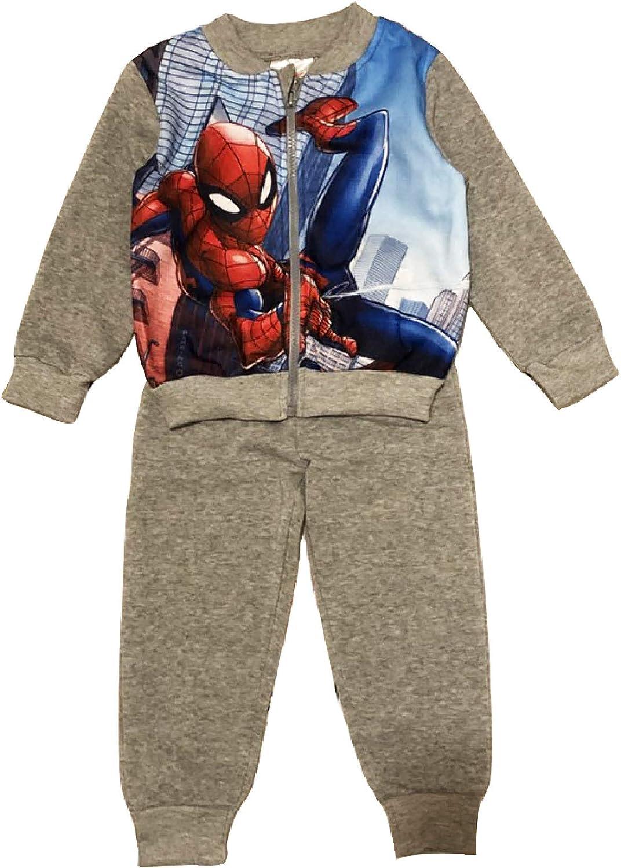 Tuta Spiderman 3 4 5 6 7 8 Anni Inverno