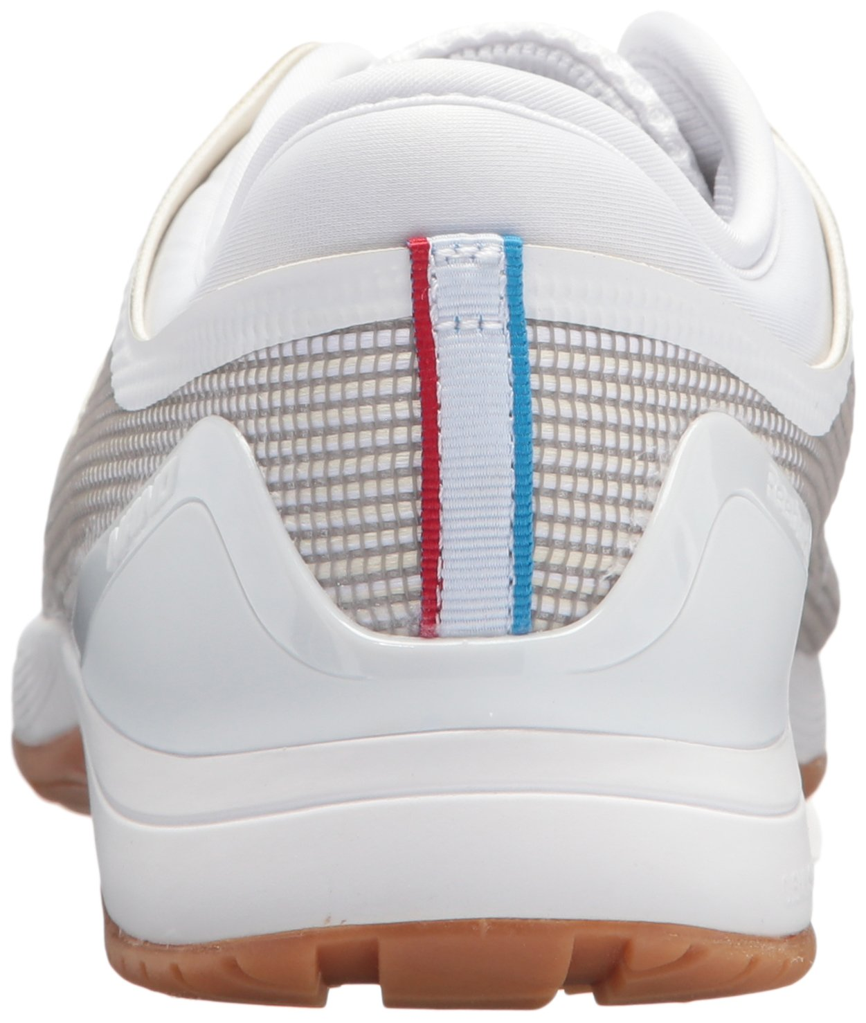 Reebok Women's Crossfit Nano 8.0 Flexweave Cross Trainer B073XK5V46 7.5 B(M) US White/Classic White/Excellent Red/Blue/Gum