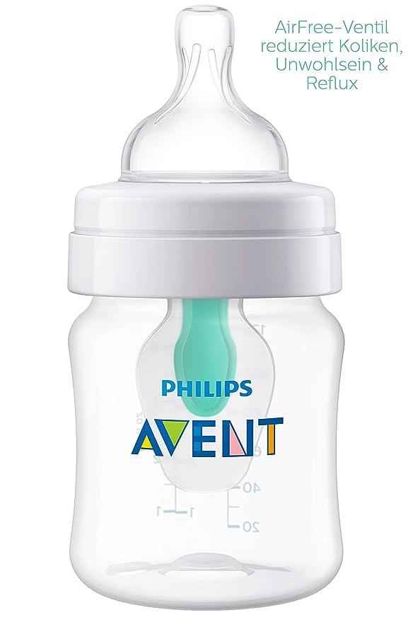Philips AVENT Set de regalo anticólicos con sistema AirFree™ SCD807/00 - Kits de iniciación a la alimentación para recién nacidos