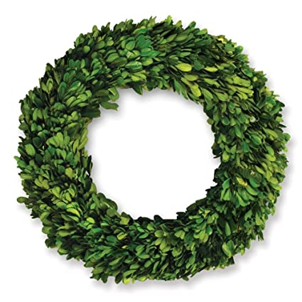 Napa Home U0026 Garden 12 Inch Preserved Boxwood Wreath