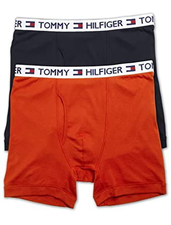 945415eb7475 Tommy Hilfiger Big and Tall 2-Pack Knit Boxer Briefs at Amazon Men's  Clothing store: