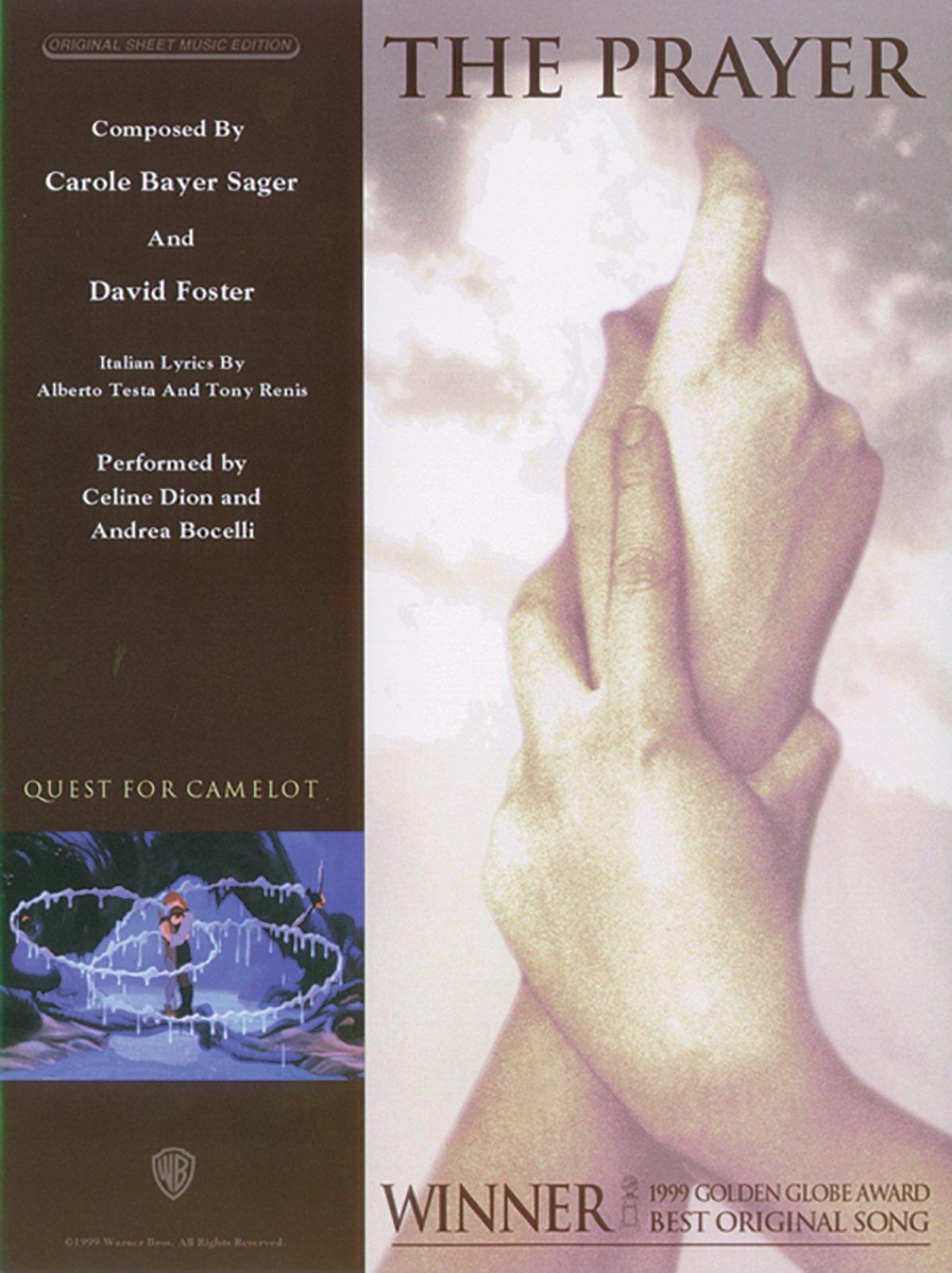 The Prayer Pianovocalchords Sheet Original Sheet Music Edition