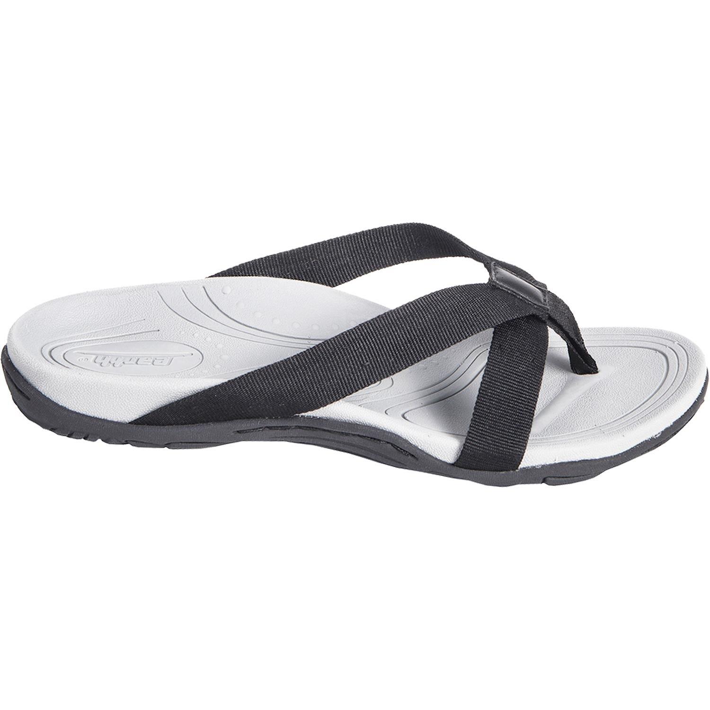 7327de76887e3 Amazon.com   Earth Women's Malia Black Fabric 6 Medium   Sandals