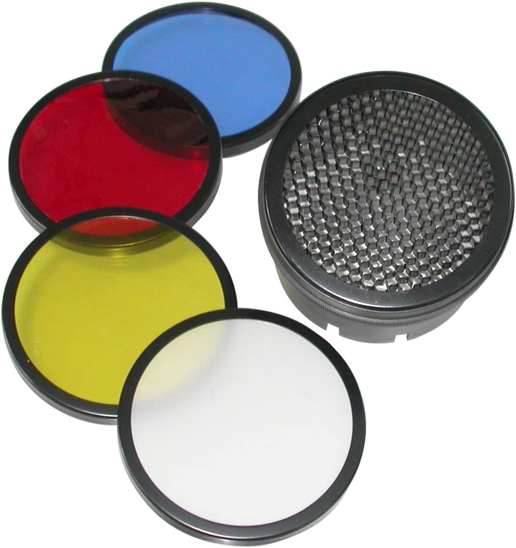 walimex M/&MR Series Honeycomb and Colour Filter Set