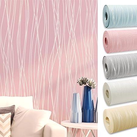 4 Murs 3d Papier Peint Intisse Decoration Pour Tv Mural Salon