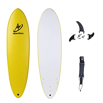 alpenflow 7 Tabla de Surf Suave Superior de Espuma, Tabla de Surf de Alto