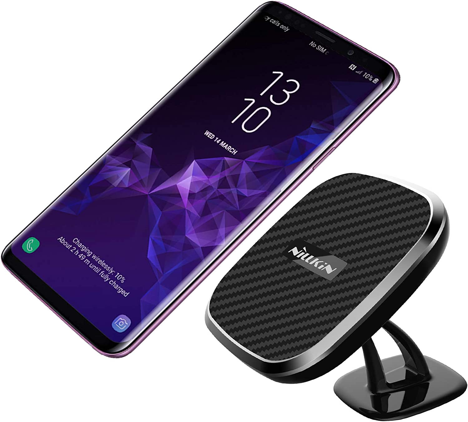 Qi Magnetic Wireless Car Fast Charger WYNK Car Mount Phone Holder Charging for iPhone 11//11 Pro//11 Pro Max//XS//XS Max//XR//X//8//8 Plus,Samsung Galaxy S10e//S10//S10+//Note 10//9 and All QI-Enabled Devices