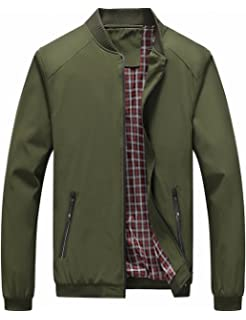 Vince Camuto Mens Quilted Jacket with Plaid Yoke at Amazon ...