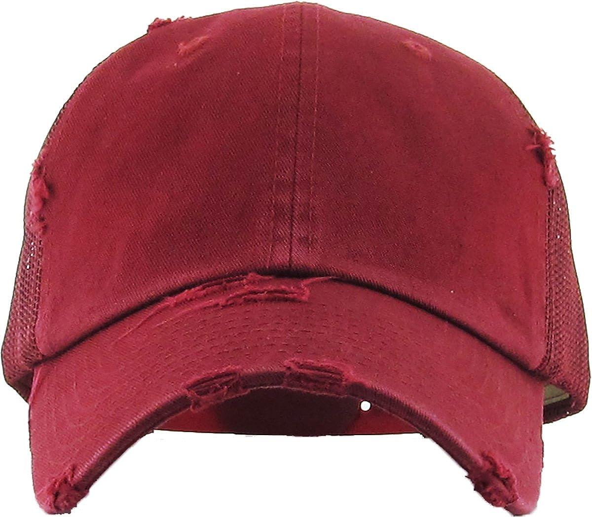 ... KBETHOS Vintage Washed Mesh Back Cotton Dad Trucker Hat Baseball Cap  Polo Style KBE-VM ... d0c8425e8d3e
