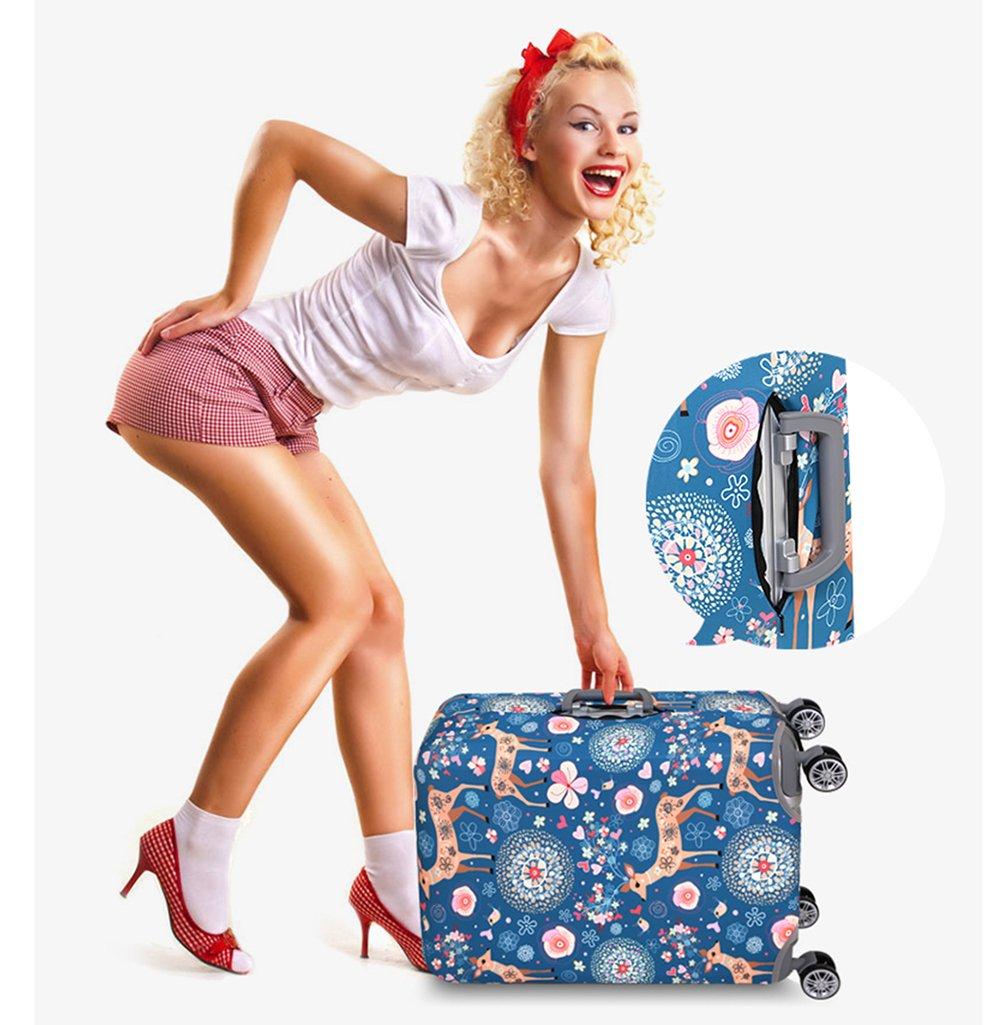 Bagages Housse de protection Valise Protecteur Valise Housse de Voyage Housse de bagages