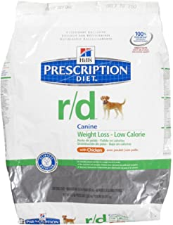 HillS Prescription Diet R/D Weight Loss - Low Calorie Dry Dog Food W/