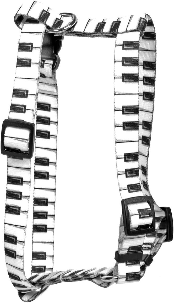 Yellow Dog Design Piano Keys Roman Style H Dog Harness