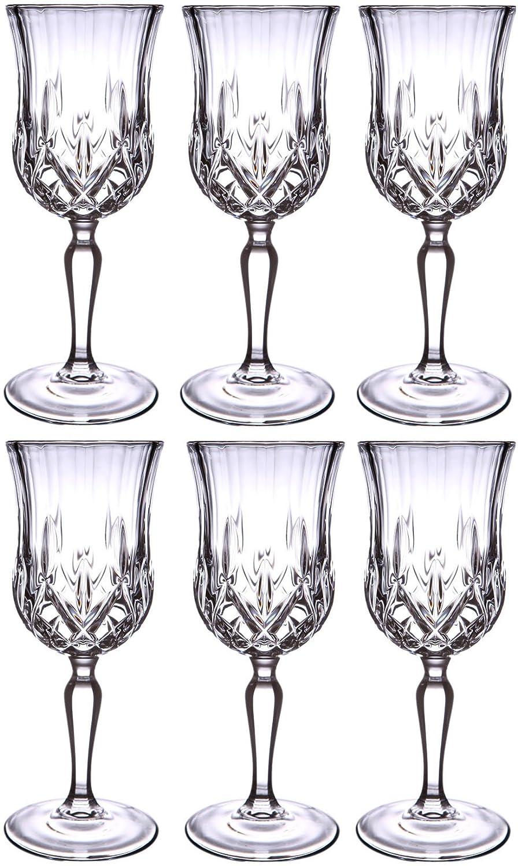 RCR Royal Rock Crystal Opera Sherry Glasses, Set Of 6 12cl,4oz Rcr Crystal 237980
