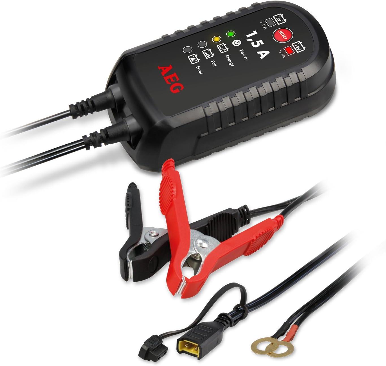 6 V 1.5 AEG Chargeur automatique Chargeur /à microprocesseur LM 1.5 12 V