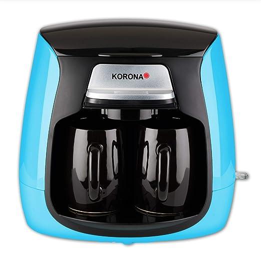Korona 12208 - Cafetera compacta con filtro permanente y 2 tazas ...