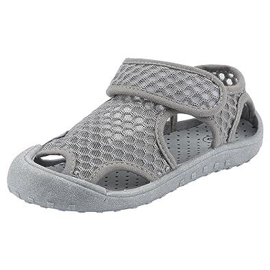 Qimaoo Chaussures de Plage Bébé Enfant Fille Garçon,Eté Sandales Bout Fermé  en Maille Mixte ec1d1fa29536