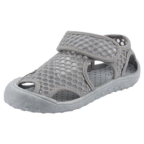 boutique pour officiel livraison gratuite chaussures classiques Qimaoo Chaussures de Plage Bébé Enfant Fille Garçon,Eté Sandales Bout Fermé  en Maille Mixte Enfants